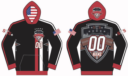 Picture of SOUTH SHORE CUSTOM SUBLIMATED  HOODIE