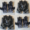 Picture of Black Panther  custom football Gloves