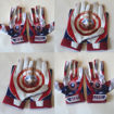 Picture of Captain America   custom football Gloves